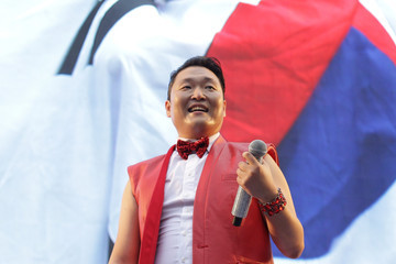 Psy Psy Is Super into the World Cup