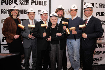 Gail Papp The Public Theater Capital Campaign Building Renovations Kick Off