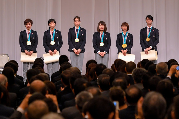 PyoengChang Olympic Japan Team Disbandment Ceremony