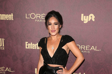 Q'Orianka Kilcher FIJI Water At Entertainment Weekly Pre-Emmy Party