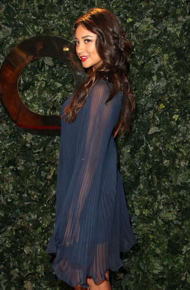 Actress Shay Mitchell arrives at QVC Red Carpet Style Party on February 25, 2011 in Los Angeles, California.
