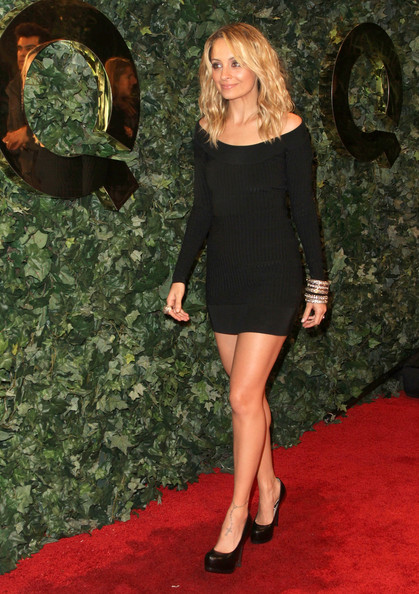Latest Pictures Of Nicole Richie In A Little Black Dress Pictures
