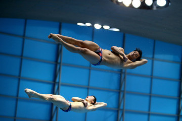 Qin Kai FINA/NVC Diving World Series: Day 1