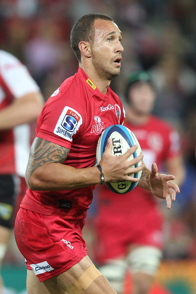 Quade Cooper Pictures - Super Rugby Rd 13 - Reds v Lions ...