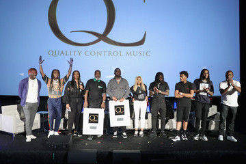 Quavo Kiari Kendrell Cephus Capitol Music Group's 5th Annual Capitol Congress Premieres New Music And Projects For Industry And Media