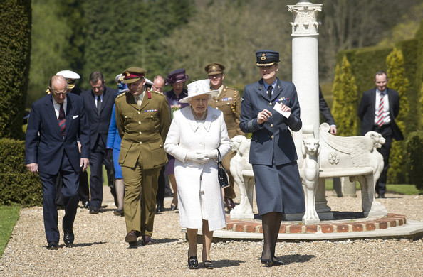 Queen Elizabeth II Visits Headley Court