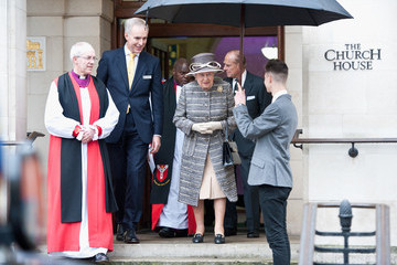 Queen Elizabeth II The Queen and Duke of Edinburgh Attend the Inauguration of the Tenth General Synod