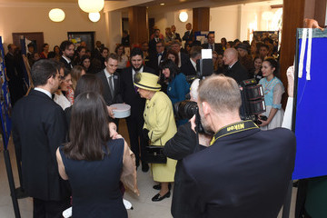 Queen Elizabeth II The Queen Visits Goodenough College