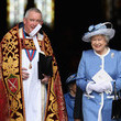 Graeme Knowles Queen Elizabeth II Attends 300th Anniversary Service At St Paul's Cathedral