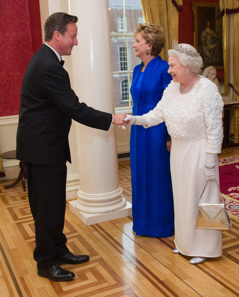 Queen Elizabeth Ii And Mary Mcaleese Photos Photos Queen Elizabeth