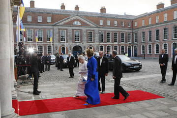 Dr Martin Mc Aleese Queen Elizabeth II's Historic Visit To Ireland - Day Two