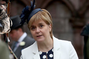 First Minister Nicola Sturgeon attends the annual garden party at the Palace of Holyroodhouse on July 4, 2017  in Edinburgh, Scotland.