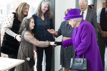 Queen Elizabeth II The Queen Opens The New Premises Of The Royal National ENT And Eastman Dental Hospital