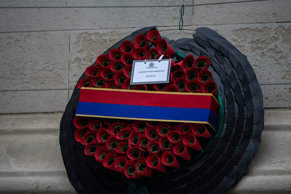 National Service Of Remembrance At The Cenotaph [tire,red,automotive tire,wheel,auto part,automotive wheel system,rim,tread,synthetic rubber,tire care,tire,elizabeth ii,remembrance,wreath,wheel,red,note,services,the cenotaph,national service,car,tire,wheel,red]