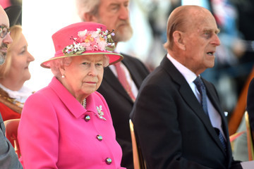 Queen Elizabeth II Prince Phillip The Queen & Duke Of Edinburgh Carry Out Engagements In Windsor
