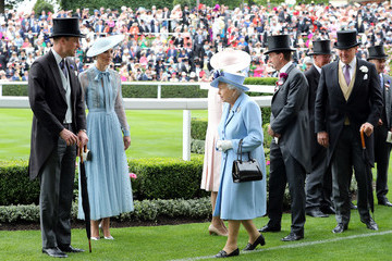 Queen Elizabeth II Prince William Royal Ascot 2019 - Day One