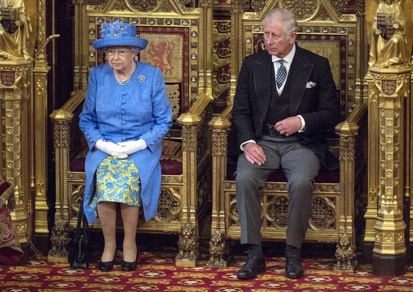 The State Opening Of Parliament 2017 [temple,car,elizabeth ii,charles,carriage,wales,palace of westminster,united kingdom,l,house of lords,state opening of parliament]