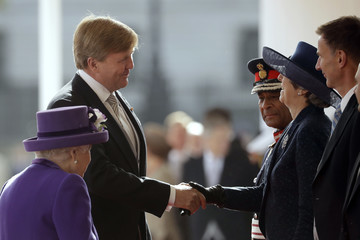 Queen Elizabeth II Theresa May State Visit Of The King And Queen Of The Netherlands - Day One