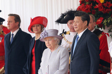 Queen Elizabeth II Theresa May State Visit of the President of the People's Republic of China - Day 2