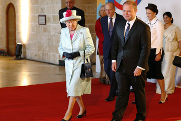 Queen Elizabeth II The Queen and Senior Royals Attend the Commonwealth Heads of Government Meeting - Day One
