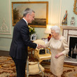 Queen Elizabeth II NATO Leaders Summit Takes Place In The UK - Day One