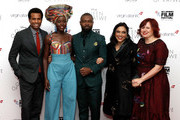 Vice President of Production Disney Studios and Executive Producer Tendo Nagenda, actors Lupita Nyong'o, David Oyelowo, director Mira Nair and festival director Claire Stewart attend the 'Queen Of Katwe' Virgin Atlantic Gala screening during the 60th BFI London Film Festival at Odeon Leicester Square on October 9, 2016 in London, England.