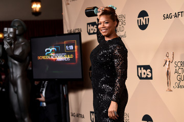 Queen Latifah The 22nd Annual Screen Actors Guild Awards - Press Room