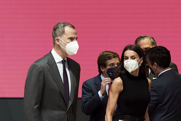 Queen Letizia of Spain King Felipe VI of Spain Spanish Royals Attend IFEMA New Brand And Strategy