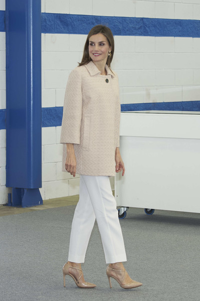 Queen Letizia of Spain Inaugurates the FP Course