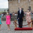 Queen Letizia of Spain Spanish Royal Family Attends A National Offering To The Apostle Santiago