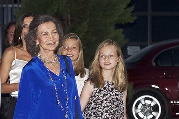 Queen Letizia of Spain Spanish Royals Attends Ara Malikian Concert