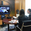 Queen Letizia of Spain Spanish Royals Meet Sport Entities On Video Conference
