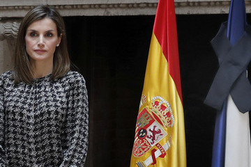Queen Letizia of Spain Spanish Royals Pay Their Respects to Victims of Nice Attack