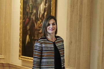 Queen Letizia of Spain Queen Letizia of Spain Attends a Council Meeting With Royal Board on Disability