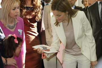 Queen Letizia of Spain Queen Letizia of Spain Attends the 2nd Congress of Uncommon Diseases