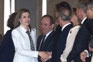 Queen Letizia of Spain Queen Letizia of Spain Attends the Rare Diseases Day Offcial Act