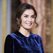 Queen Letizia of Spain Spanish Royals Receive The Diplomatic Corps At Zarzuela Palace