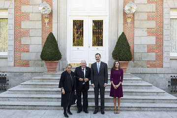 Queen Letizia of Spain Spanish Royals Host Official Lunch With Israel President