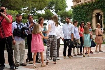 Queen Letizia of Spain Spanish Royals Arrive at Palma de Mallorca