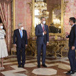 Queen Letizia of Spain Spanish Royals Host A Lunch For Chile's President, Sebastian Piñera