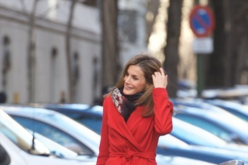 Queen Letizia of Spain Association Against Cancer Meeting