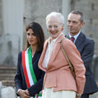 Queen Margrethe II Queen Margrethe Visits Rome - Day 1