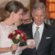 Queen Mathilde King Philippe of Belgium and Queen Mathilde of Belgium Attend a Concert at Palais Des Beaux Arts
