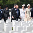 Queen Mathilde 100th Anniversary Of The Battle Of Passchendaele Is Commemorated In Ypres
