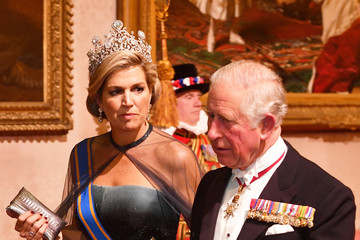 Queen Maxima State Visit Of The King And Queen Of The Netherlands - Day One