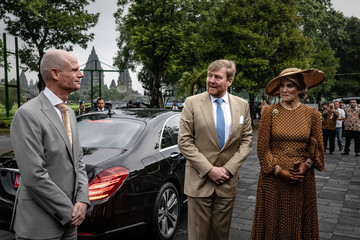 Queen Maxima Dutch King Willem-Alexander and Queen Maxima Visit Indonesia