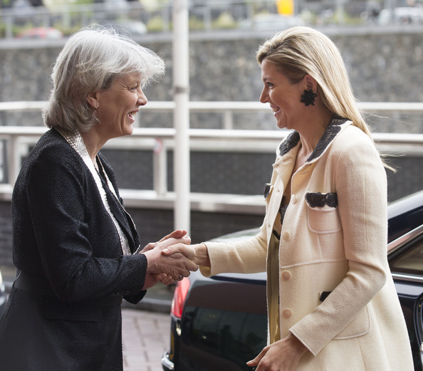Queen Maxima Arrives at the Council of Governors Meeting