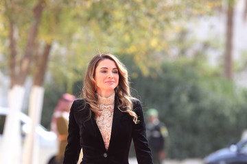 Queen Rania King Abdullah Attends State Opening Of Jordanian Parliament