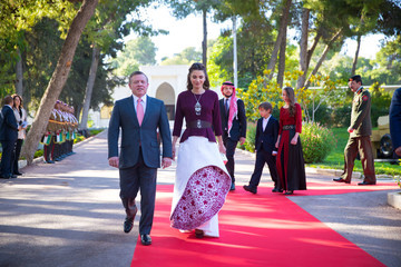 Queen Rania Jordan Marks 70th Independence Day With Official Celebrations