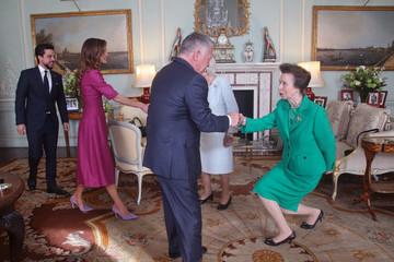 Queen Rania Audiences at Buckingham Palace